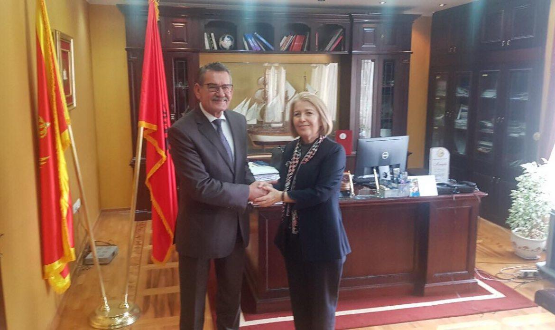Ambasadorja e Turqisë, Songul Ozan viziton Ulqinin