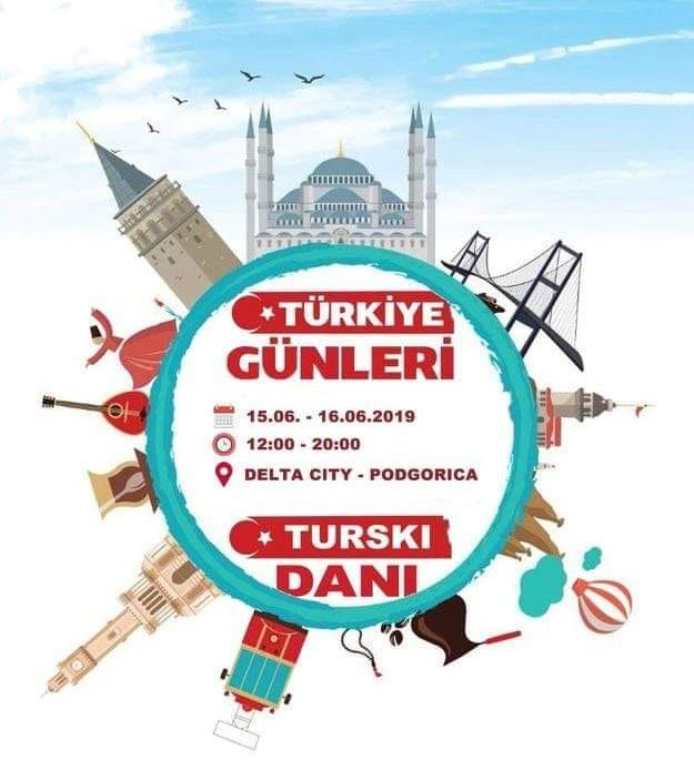 """Me 15 dhe 16 qershor organizohet aktiviteti""""Ditët e Turqisë në Mal të Zi"""""""