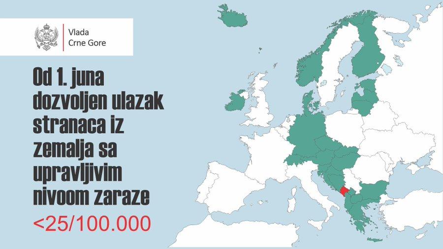Mali i Zi zgjeron listën e shteteve, qytetarët e të cilëve mund te hyjnë në këtë republikë